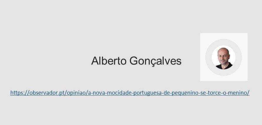 A Nova Mocidade Portuguesa: de pequenino se torce o menino