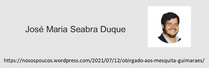 Read more about the article Obrigado aos Mesquita Guimarães