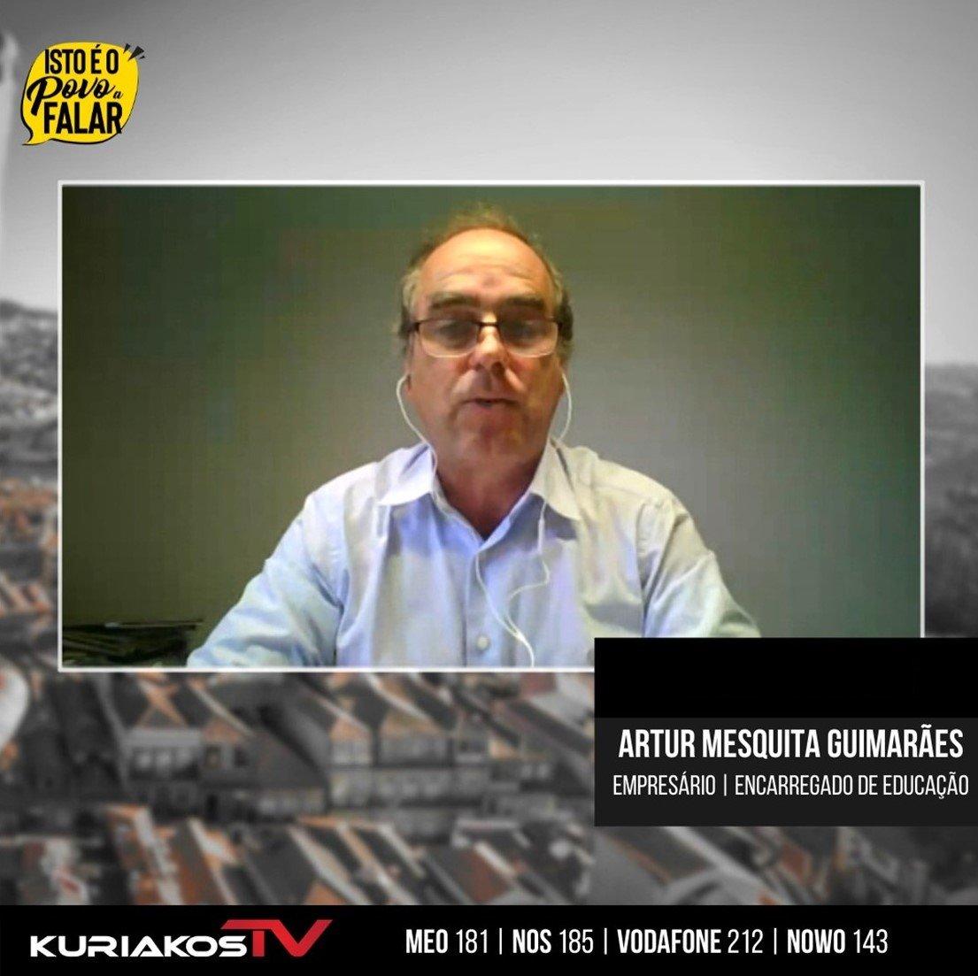 Read more about the article ISTO É O POVO A FALAR | O SILÊNCIO FALA | Entrevista Artur Mesquita Guimarães