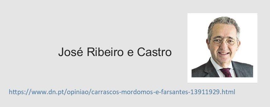 Read more about the article Carrascos, mordomos e farsantes